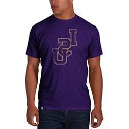 '47 Men's NCAA   LSU Tigers Basic Scrum T-Shirt, Large