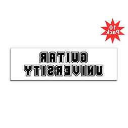"CafePress - University Bumper Sticker  - 10""x3"" Rectangle Bu"