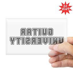 CafePress - University Rectangle Sticker 10 Pk) - Rectangle