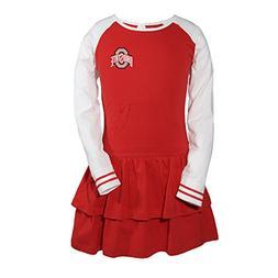 Garb Little Girls' Ohio State University Kacey Toddler Dress