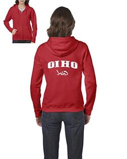 NIB OH Girl Ohio Cincinnati Map Bearcats Buckeyes Home Of Oh