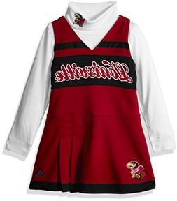 Outerstuff NCAA Louisville Cardinals Girls 4-6X Turtleneck C