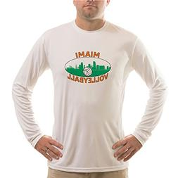 Vapor Apparel Miami Volleyball UPF 50+ Performance T-shirt X