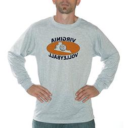 Vapor Apparel Virginia Volleyball Performance Long Sleeve Sh