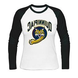 Women quinnipiac university Baseball T-shirt S White
