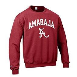 Elite Fan Shop Alabama Crimson Tide Crewneck Sweatshirt - M