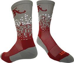 TCK Sports Alabama Crimson Tide Downtown Crew Socks