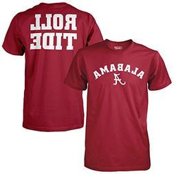 Elite Fan Shop Alabama Crimson Tide Roll Tide Tshirt - XL