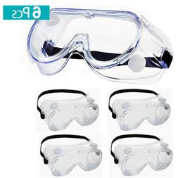 Anti Fog Safety Glasses Clear Anti Scratch EyeProtection Wor