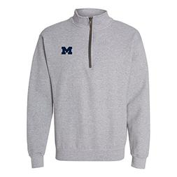 AQ07 - Michigan Wolverines Primary Logo Left Chest  Quarter