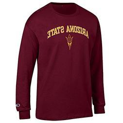 Elite Fan Shop Arizona State Sun Devils Long Sleeve Tshirt V
