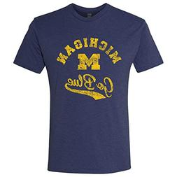 AS11 – Michigan Wolverines Retro Script Men's Triblen