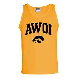 AT03 - Iowa University Hawkeyes Arch Logo Mens Tank Top - Sm