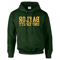 Baylor Bears Basic Block Hoodie - 2X-Large - Forest Green