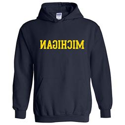 Michigan Wolverines Basic Block Hoodie – 3X-Large - N