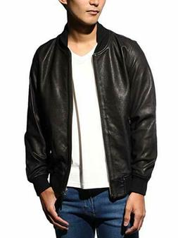 University of Oxford Black Goat Leather Jacket from Japan Si