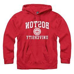 Ivysport Boston University Hooded Sweatshirt, Legacy, Red, S