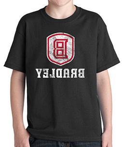 J2 Sport Bradley Braves NCAA Big Mascot Youth T-Shirt