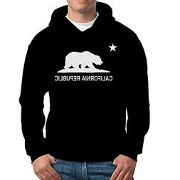 Artix California Republic Bear White Unisex Hoodie Californi