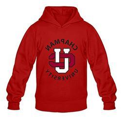 Chapman University VAVD Man's 100% Cotton Hoodies Red Size M