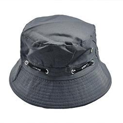 Aniywn Clearance Price! Men Women Unisex Cotton Bucket Hat D