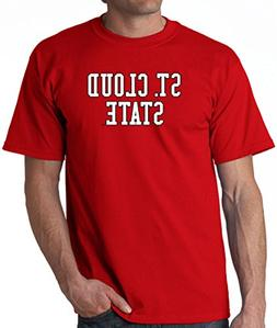 J2 Sport St. Cloud State Huskies NCAA Block Unisex Red T-Shi