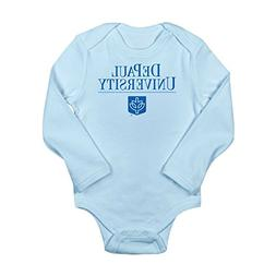 CafePress Butler University Cute Long Sleeve Infant Bodysuit Baby Romper