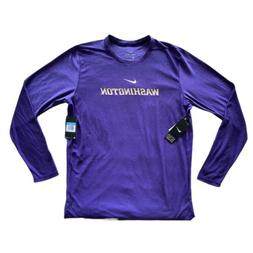 Nike Dri Fit On Field Apparel University Of Washington Huski