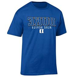 Duke Blue Devils Adult Arch Logo T-Shirt - Royal , Medium