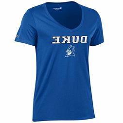 Champion Duke Blue Devils Womens NCAA University V-Neck T-Sh