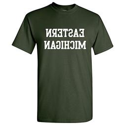 UGP Campus Apparel Eastern Michigan Eagles Basic Block T-Shi