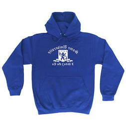 Funny Novelty Hoodie Hoody hooded Top - Some University I Di