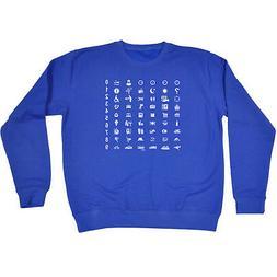 Funny Novelty Sweatshirt Jumper Top - Universal Translator