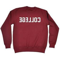 Funny Sweatshirt College University School Study Birthday Jo