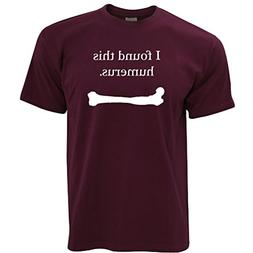 funny t shirt i found this humerus