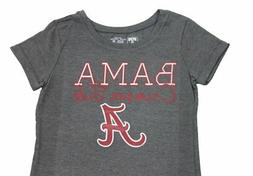 University Tees Girl's NCAA Alabama Crimson Tide Bama   T-Sh