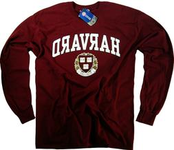 Harvard Shirt Long Sleeve T-Shirt University Gifts Gear Wome