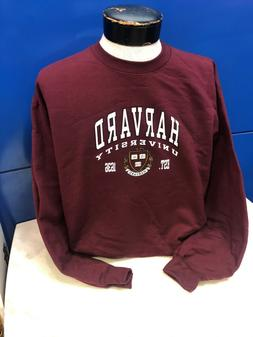 Harvard University Crewneck Sweatshirt,Maroon, Available i