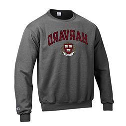 Elite Fan Shop Harvard University Crewneck Sweatshirt Varsit