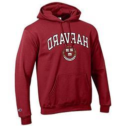 Elite Fan Shop Harvard University Hooded Sweatshirt Varsity