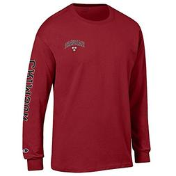 Elite Fan Shop Harvard University Long Sleeve Tshirt Letterm
