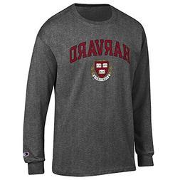 Elite Fan Shop Harvard University Long Sleeve Tshirt Varsity