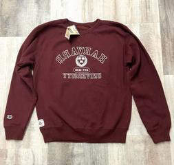 Harvard University Men's Sweatshirt Champion Burgundy Crew