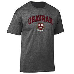 Elite Fan Shop Harvard University Tshirt Varsity Charcoal -
