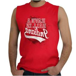 Have A Ball In Indiana University State Pride Sleeveless T S