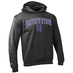 Elite Fan Shop Northwestern Wildcats Kids Hooded Sweatshirt