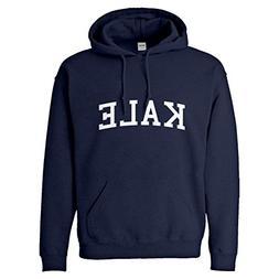 Indica Plateau Hoodie Kale Small Navy Blue Hooded Sweatshirt