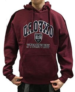 Official Oxford University Hoody - Burgundy - Official Appar