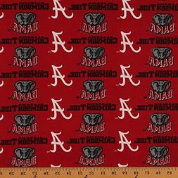 Imperfect Cottonblend Duck University of Alabama Crimson Tid