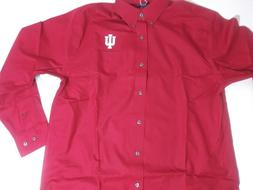 Indiana University Hoosiers Dress Men's Fraternity Long Slee